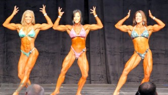 Women's Physique Final Comparisons & Awards - 2015 IFBB Toronto Pro