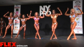 Women's Physique Highlights from the 2015 NY Pro