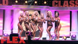 2016 Arnold Classic Women's Physique International Highlights