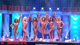 2017 Arnold Classic Women's Physique Highlights