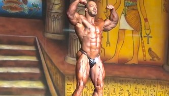 "Zack ""KING"" Khan's Posing Routine at the 2013 Dallas Europa Pro"
