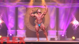 2017 Arnold Classic 212 Posing Routine: Zane Watson