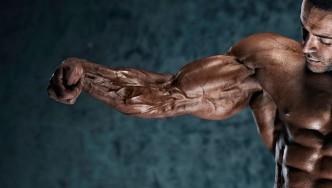 Bodybuilder Biceps