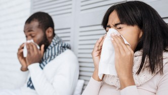 Couple with a Cold