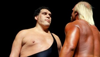 Junk Hogan and Andre the Giant