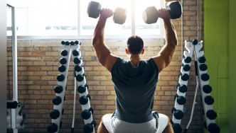 The 30-Minute Dumbbell Workout to Build Your Shoulders & Traps