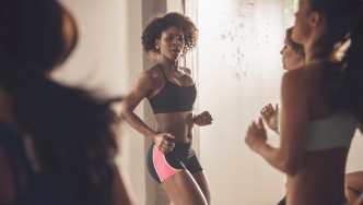 Women in Group Fitness Class thumbnail