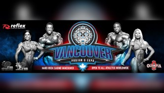 Winners of the 2018 IFBB Vancouver Pro