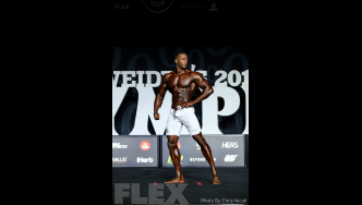 Raymont Edmonds - Men's Physique - 2018 Olympia