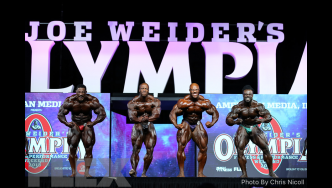 Comparisons - Open Bodybuilding - 2018 Olympia