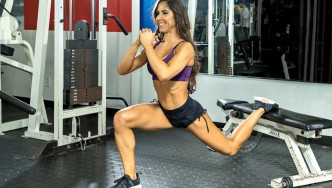 Angelica-Texiera-Single-Leg-Split-Squat