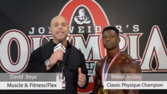 Interview: 2018 Olympia Men's Classic Physique Champion Breon Ansley