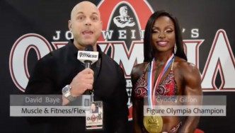 Interview: Olympia Figure Champion Cydney Gillon