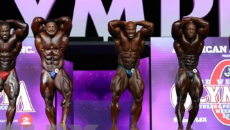 Final Posedown & Awards - Open Bodybuilding - 2018 Olympia