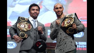 "How Keith ""One Time"" Thurman prepared for his big fight against Manny Pacquiao"