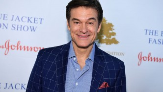 A photo of Dr. Oz.