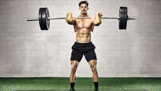 Olympic-Lift-Clean-Barbell-Gym