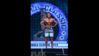 Logan Franklin - Men's Physique - 2019 Arnold Classic