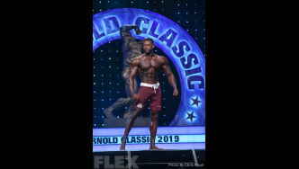 Raymont Edmonds - Men's Physique - 2019 Arnold Classic