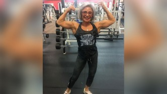 Rebecca Woody is a Shredded 70-Year-Old Bodybuilding Coach