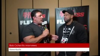 Steve Kuclo Is Back at the Olympia After Missing 2017