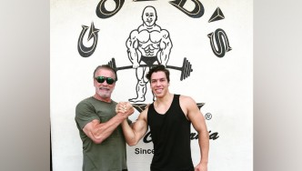 Arnold Schwarzenegger's Son Follows in His Footsteps