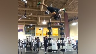 You Won't Believe This Guy's Feats of Balance and Strength