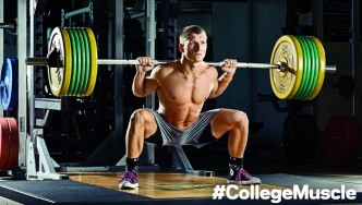 Fit Man on Campus: Connor McJury Builds College Muscle thumbnail