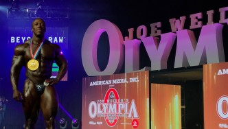 Shawn Rhoden - Open Bodybuilding - 2018 Olympia thumbnail
