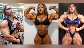 Female Bodybuilder Nataliya Kuznetsova's Incredible Physique