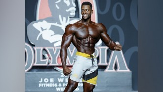Raymont Edmonds - Men's Physique - 2019 Olympia