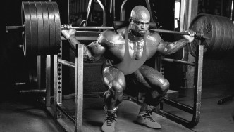 Ronnie Coleman Lifting Weights