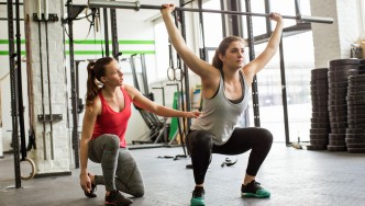 Women Lifting