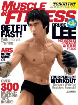 Muscle & Fitness Bruce Lee - October 2014