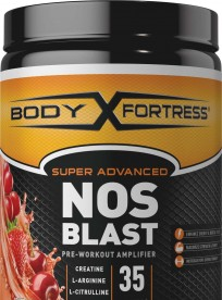 Body Fortress NOS Blast Pre-Workout