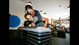 Couple Working Out at the Gym thumbnail