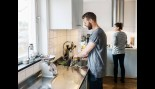 Man Washing Dishes  thumbnail