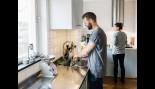 Man Washing Dishes  thumbnail