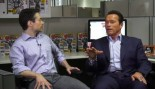 M&F Exclusive: Arnold Schwarzenegger Visits the M&F Office thumbnail