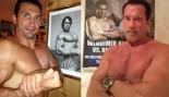 Arnold Schwarzenegger and Wladimir Klitschko Swap Twitter Pose Photos thumbnail
