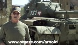 Arnold Crushes Things With His Tank thumbnail