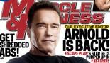 Arnold Schwarzenegger in the October M&F! thumbnail