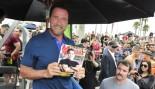 Arnold Schwarzenegger Draws Huge Crowd at Muscle Beach Event  thumbnail