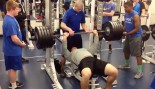 High School Football Prospect Impresses in Gym thumbnail