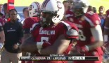 Ouch! Jadeveon Clowney Floors Vincent Smith During the Outback Bowl thumbnail