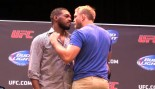 Jon Jones and Alexander Gustafsson Face Off thumbnail