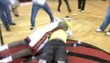 Lebron James Hugs Fan that Nails $75K Half-Court Shot thumbnail