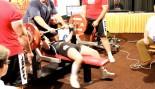 Teen Girl Benches 300 Pounds! thumbnail