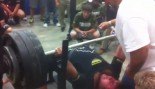 Texas High School Kid Benches 700 Pounds thumbnail