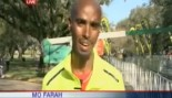 Newscaster Mistakes Olympic Champ for Rookie Runner thumbnail